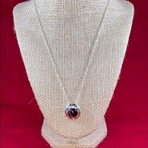 Vintage NRT Avon Purple Pendant Necklace